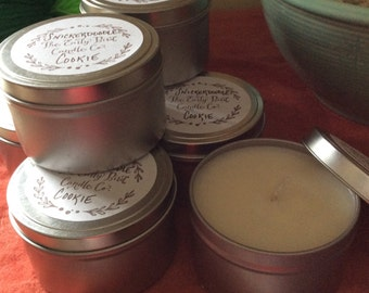 Snickerdoodle Cookie Soy Wax Container Candle
