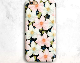 Floral iPhone 7 cas, Floral iPhone 8 cas, iPhone x cas, iPhone 7 de Plus, pour iPhone SE, Floral iPhone 6 Plus, fleurs iPhone 7, Floral SE cas