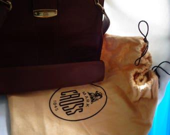 Vintage Mark Cross  shoulder Purse with rare - Dust Bag