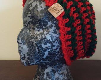 Homemade Crocheted Freddy Krueger Beanie
