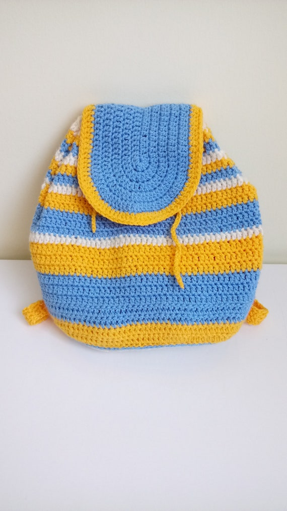 Kuzzy Design Child Knit Backpack Knitted Backpack