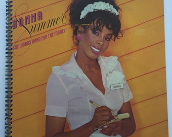 Donna Summer Recycled Record Album Cover Book