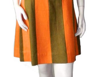 Vintage 1960's Mod Shift Dress