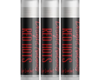 Red Hots Lip Balm - Set of Three