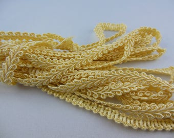 Stripe upholstery corn yellow color