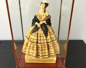 VERY RARE!!! Gwen Frangcon-Davies Wax Figurine - 1929