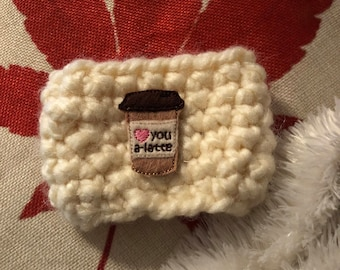 I Love You A Latte Cup Cozy