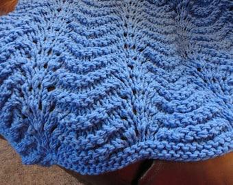 Beautiful Hand knit afghan
