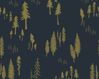 Timberlands Woodlands designed by Bonnie Christine for Art Gallery Fabrics, Boho Fabric, Floral Fabric