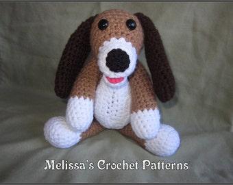 Copper the Hound Crochet Pattern