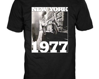 NEW YORK 1977 T-Shirt. 100% cotton Gildan t-shirt