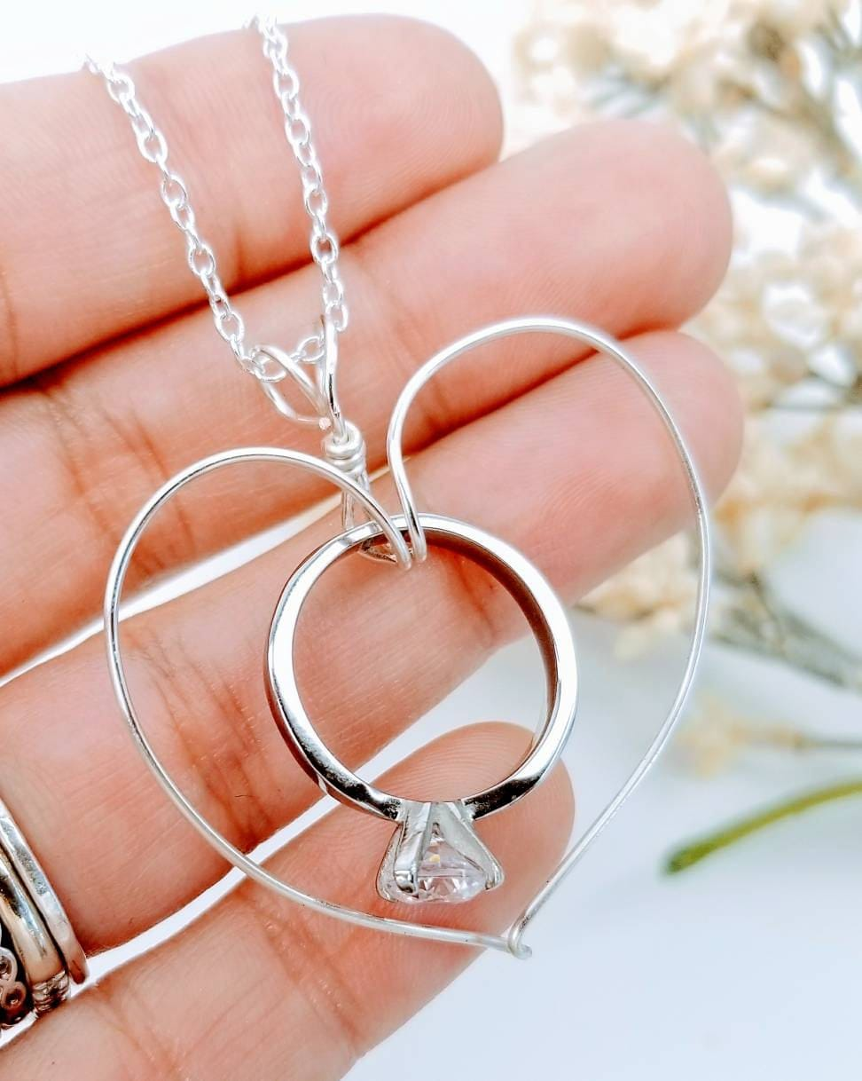 Ring Holder Necklace Wedding Necklace Gift For Her