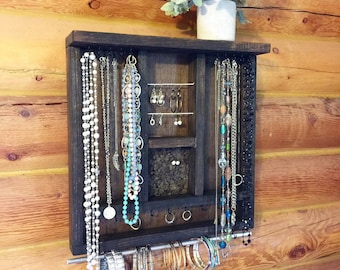 Wall jewelry box Etsy