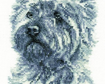 DMC BK1692 West Highland Terrier Cross Stitch Kit from the Dogs Collection