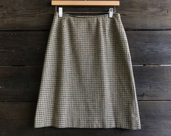 Vintage 70s Pendelton Wool Skirt
