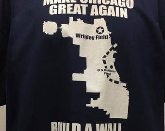 Make Chicago Great Again Tshirt, Chicago Cubs Shirt