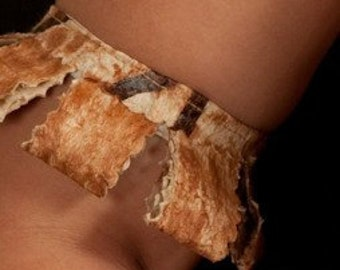 Authentic Polynesian Tapa Cloth Costume Arm Band. Perfect For All Ages. Wedding, Luau, Polynesian Costumes, Bridesmaids, Or Tahitian Dancers