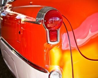 1953 Oldsmobile Fiesta Car Photography, Automotive, Auto Dealer, Muscle, Sports Car, Mechanic, Boys Room, Garage, Dealership Art