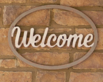 "23"" Welcome Sign! Great addition to your porch!"