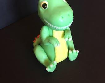 T-Rex Dinosaur, fondant figurine, 1 piece