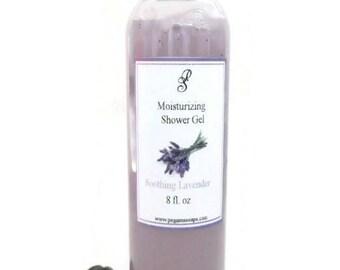 Soothing Lavender Moisturizing Shower Gel 8 oz ~Bath Care~Shower~Skin Care~