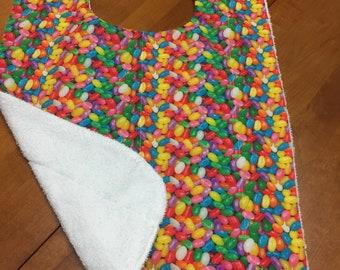 Jelly Bean Adult Bib