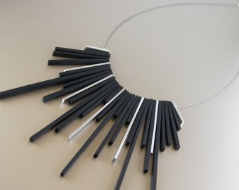 Black Tower Ebony Necklace