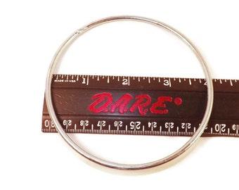 2 - Metal Rings, 4 inch Metal Ring, Dreamcatcher Ring, Medicine Wheel, Craft Supplies, Metal Hoops