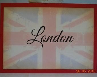 Union Jack Table Cards - Perfect For A Wedding Reception or Other British-Themed Event