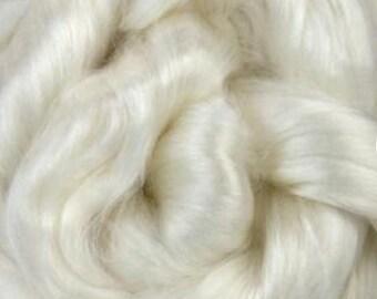 Rose Fiber, Cellulose, 4 ounces, roving, spinning fiber, blending fiber, paper making, fibre