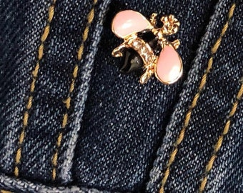 Tiny Bey Bee Brooch - Limited Quantities Available
