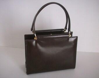 Vintage Brown Leather Purse