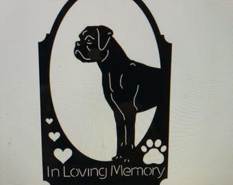 In Loving Memory Boxer