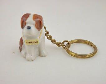 Wade St Bruno Keyring Whimsie St Bernard Dog (Perfect)