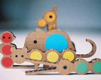 Kit Jungling. Cardboard Toy