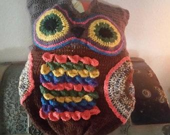 Baby Owl Cacoon/Nap Sack