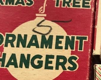 Vintage Hangers, Vintage Christmas Tree Hangers, Tree Hangers