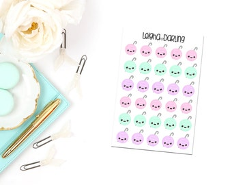 Kawaii Crochet Planner Stickers