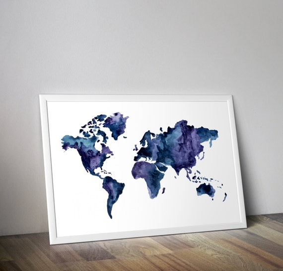 Multicolor world map download map wall art printable world multicolor world map download map wall art printable world map gumiabroncs Image collections