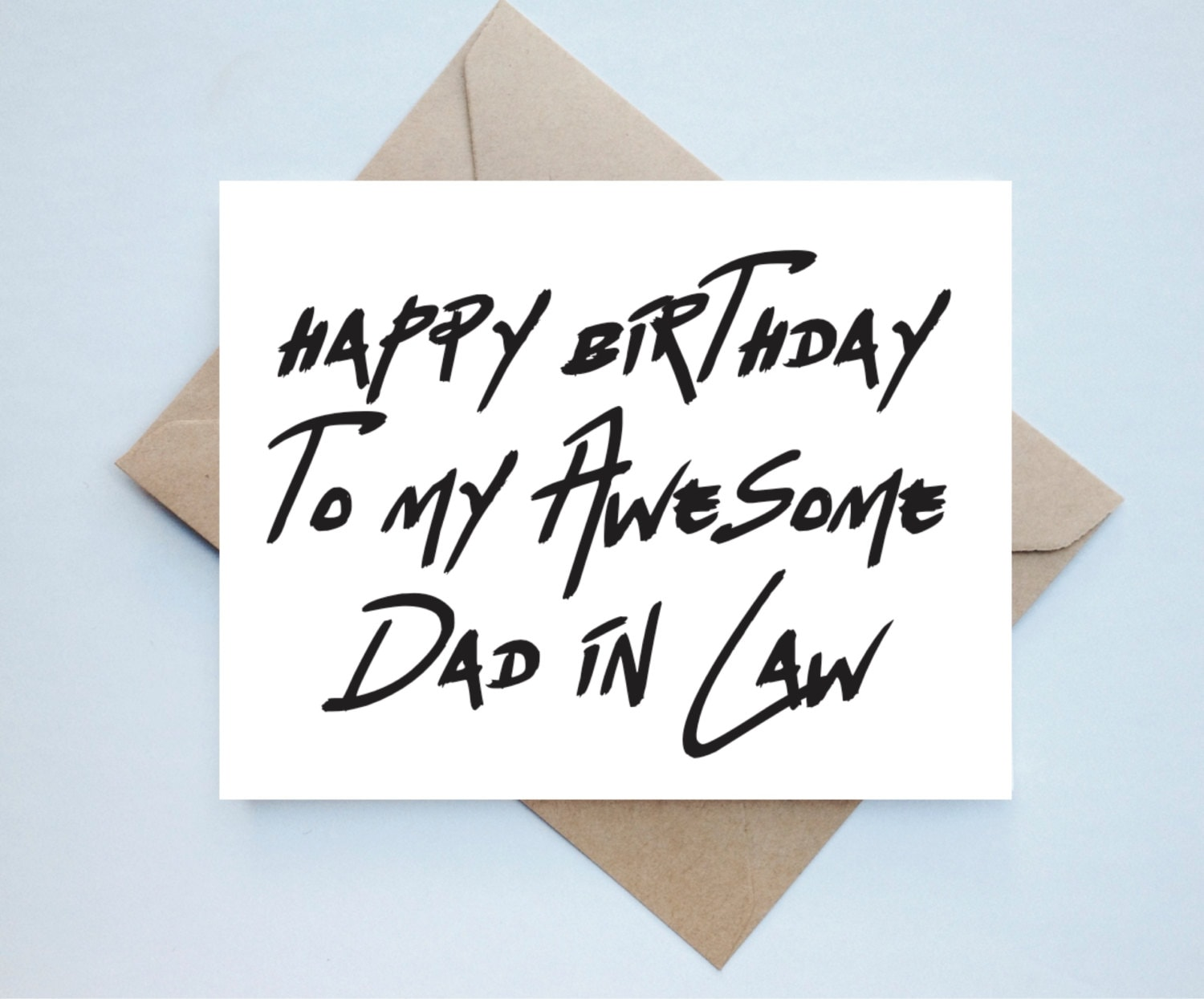 Dad in law birthday card father in law dad in law zoom bookmarktalkfo Choice Image