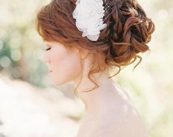 Braut Haar-Kamm, Hochzeit Kopfschmuck, Pearl Haare kämmen, floralen Kopfschmuck, Pearl Kopfschmuck, Braut Kopfschmuck, Hochzeitshaarkamm - Stil-202