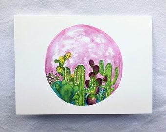 CARD - The Desert Blooms