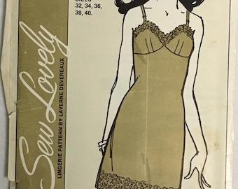 Sew Lovely Pattern S701 Ladies Full Slip UNCUT  Size 32-40