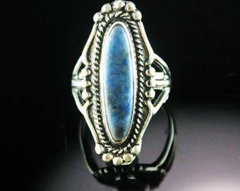 Vintage Denim Lapis Ring