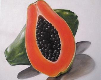 Papaya (Print on Paper)