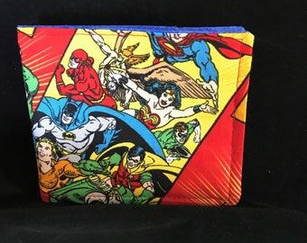 Child's Wallet - Superheroes (BYO)