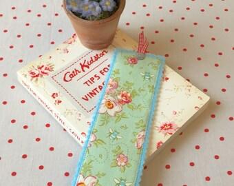 Tilda fabric bookmark