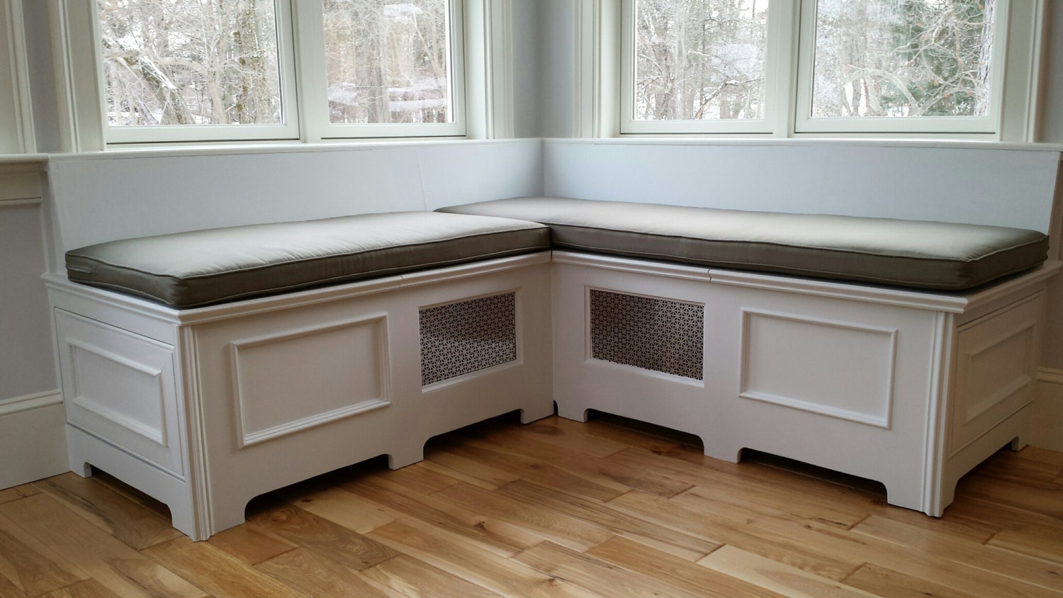 How To Make A Window Seat Out Of Kitchen Cabinets