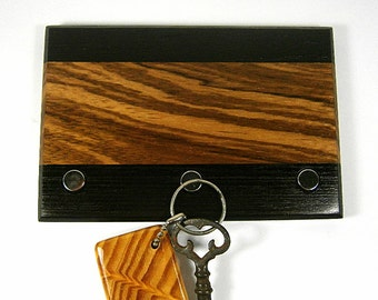 Key Holder / Wood Keyholder / Magnetic Key Holder / Wall Hanging Keyholder / Christmas Gift / Office Decor / Housewarming Gift