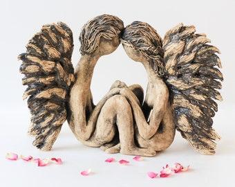 """Statuette """"Fallen angels"""""""